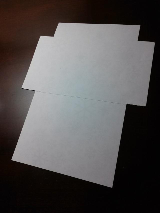 Template A2 Envelope